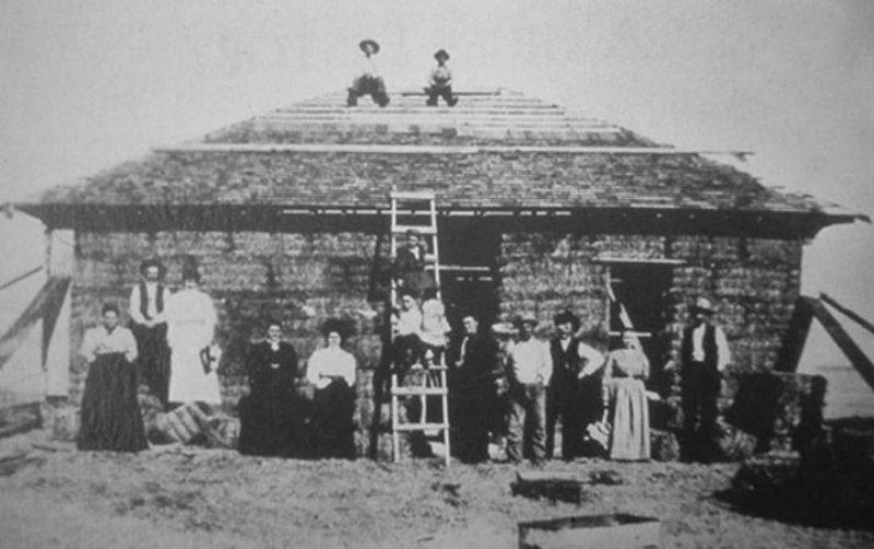 Oudste Strobalenhuis Nebraska